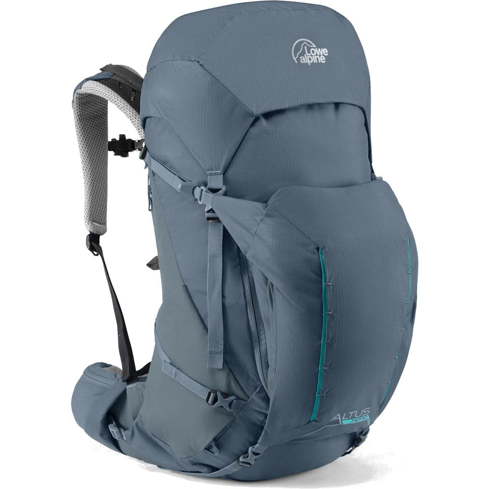 Lowe Alpine-Altus ND 50:55 (Design for Women)-Backpacking Pack-Dark Slate-Gearaholic.com.sg