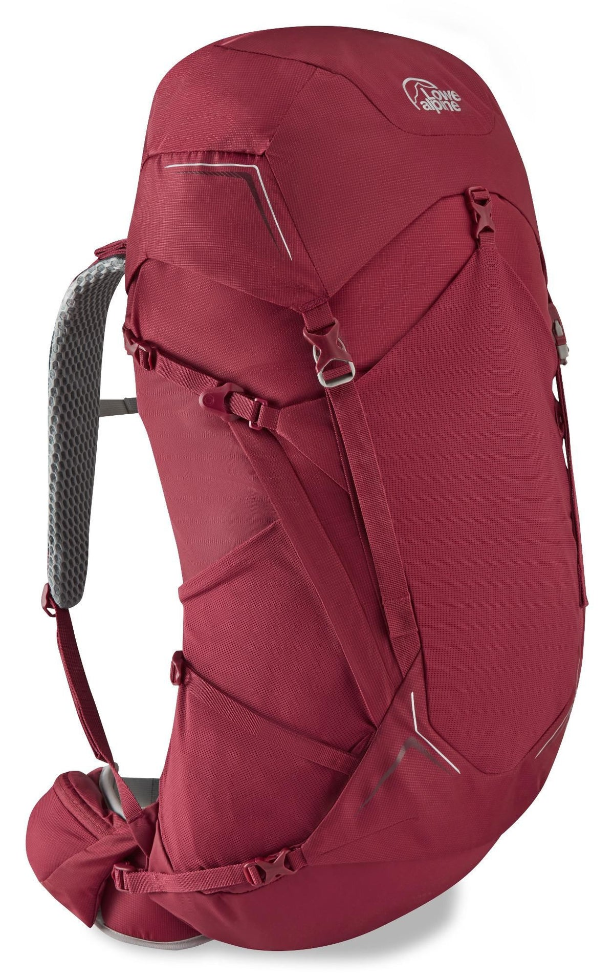Lowe Alpine-AirZone Trek ND 43-50 (Design for Women)-Backpacking Pack-Raspberry-Gearaholic.com.sg