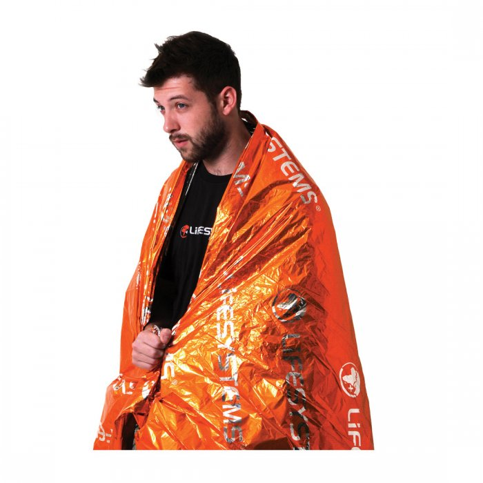 Lifeventure-Heatshield Thermal Blanket (Single)-Travel Accessory-Gearaholic.com.sg