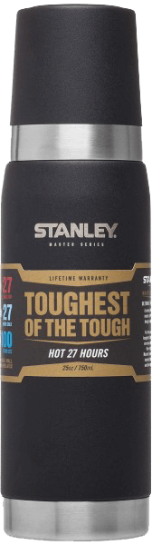 Shop for Stanley at Stanley Master Vacuum Bottle 25oz 750ml - Toughest of the Tough at Gearaholic.com.sg