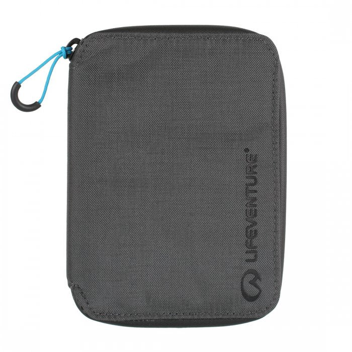 Lifeventure-RFiD Mini Travel Wallet-RFID Wallet-Grey-Gearaholic.com.sg