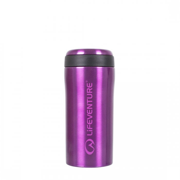 Lifeventure-Thermal Mug - Available in 7 Colours-Vacuum Bottle-Purple-Gearaholic.com.sg