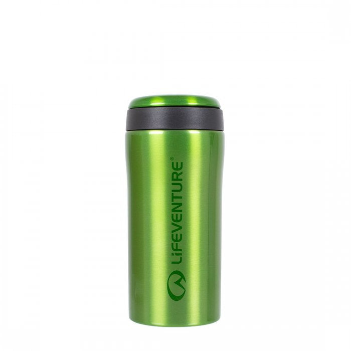 Lifeventure-Thermal Mug - Available in 7 Colours-Vacuum Bottle-Green-Gearaholic.com.sg