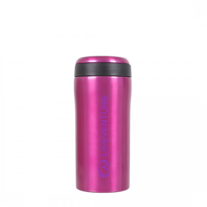 Lifeventure-Thermal Mug - Available in 7 Colours-Vacuum Bottle-Pink-Gearaholic.com.sg