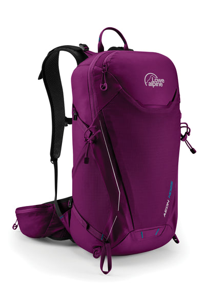 Lowe Alpine-Lowe Alpine Aeon ND25-Backpacking Pack-Ruby Wine-Gearaholic.com.sg