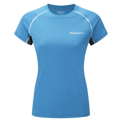 Montane-Women's Sonic Short Sleeves T-Shirt-Women's Next to Skin-Blue Spark-XS-Gearaholic.com.sg