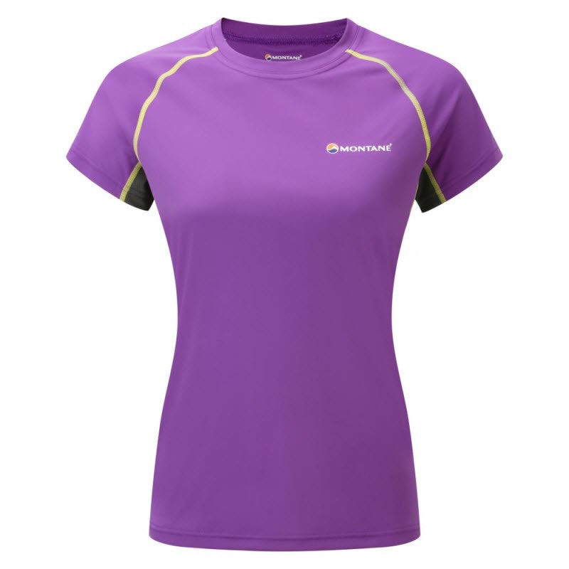 Montane-Women's Sonic Short Sleeves T-Shirt-Women's Next to Skin-Dahlia-XS-Gearaholic.com.sg
