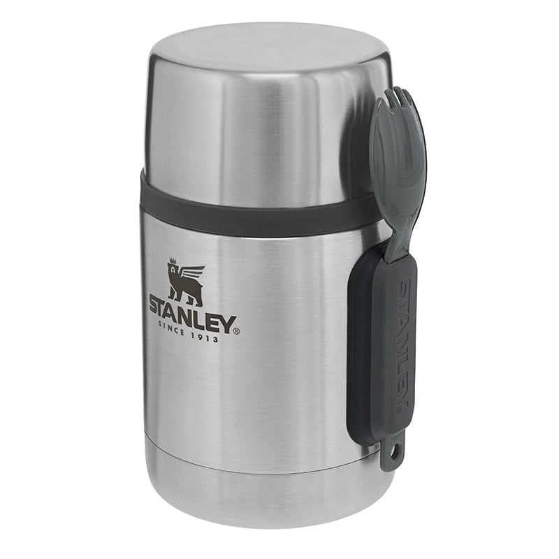 Stanley-Adventure Vacuum All-in-One Food Jar 18oz 532ml-Vacuum Food Jar-Stainless Steel-Gearaholic.com.sg