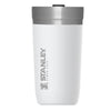 Stanley-GO Series Vacuum Tumbler 470ml Hot Cold Insulated Thermos-Vacuum Bottle-Polar White-470ml-Gearaholic.com.sg