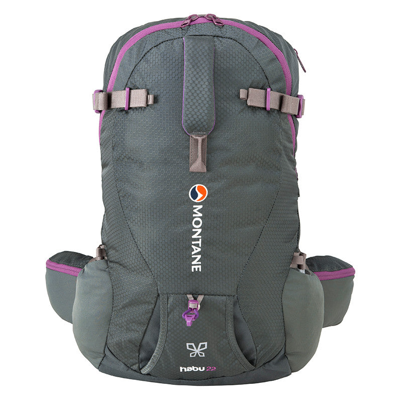 Montane-Montane Habu 22 Women's Day Backpack-backpacking pack-Shadow-Gearaholic.com.sg
