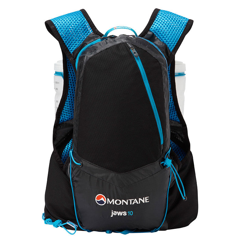 Montane-Montane Jaws 10 Trail Running Backpack - 10 Litre-backpacking pack-Black-S/M-Gearaholic.com.sg
