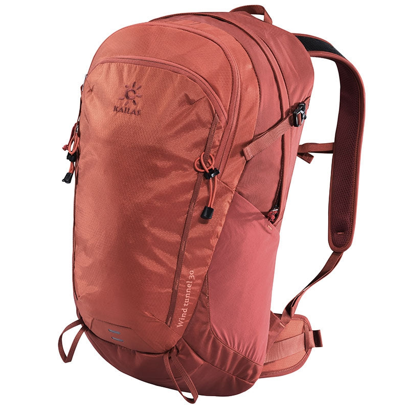 Kailas-Wind Tunnel 30L-Backpacking Pack-Dark Red-Gearaholic.com.sg