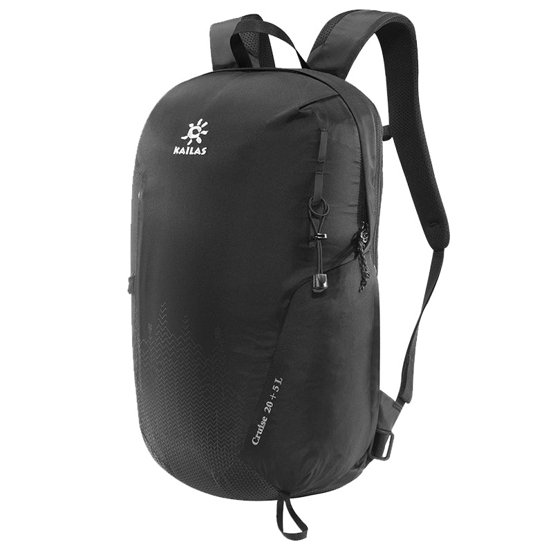 Kailas-Cruise Light Weight Back Pack 20+5L-Backpacking Pack-Black-Gearaholic.com.sg