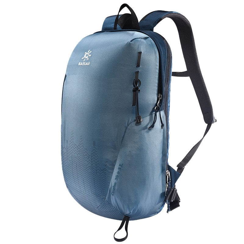 Kailas-Cruise Light Weight Back Pack 20+5L-Backpacking Pack-Grey Blue-Gearaholic.com.sg