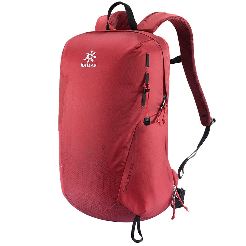 Kailas-Cruise Light Weight Back Pack 20+5L-Backpacking Pack-Saffron-Gearaholic.com.sg