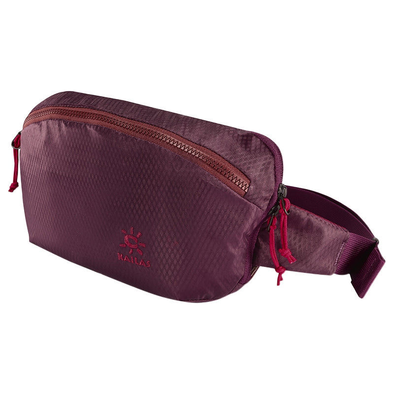 Kailas-Fishes Multi-functional Waist Bag-Waist Pack-Wine Purple-Gearaholic.com.sg