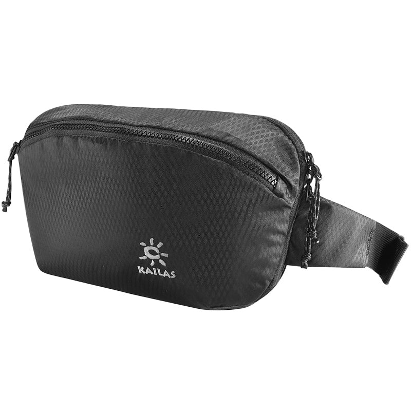 Kailas-Fishes Multi-functional Waist Bag-Waist Pack-Black-Gearaholic.com.sg