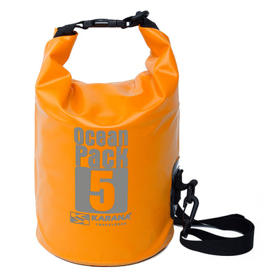 Karana-Ocean Pack Dry Bag 5 Litres-Waterproof Dry Tube-Orange-Gearaholic.com.sg