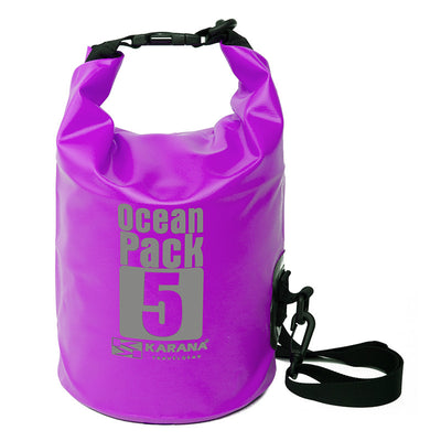 Karana-Ocean Pack Dry Bag 5 Litres-Waterproof Dry Tube-Purple-Gearaholic.com.sg