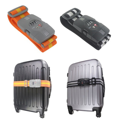 Shop for Kefi at Heavy Duty Luggage Strap with TSA Lock at Gearaholic.com.sg