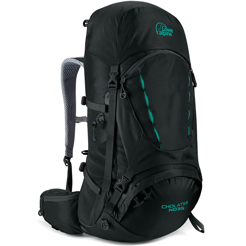 Lowe Alpine-Cholatse ND35 (Design for Women)-Backpacking Pack-Black-Gearaholic.com.sg