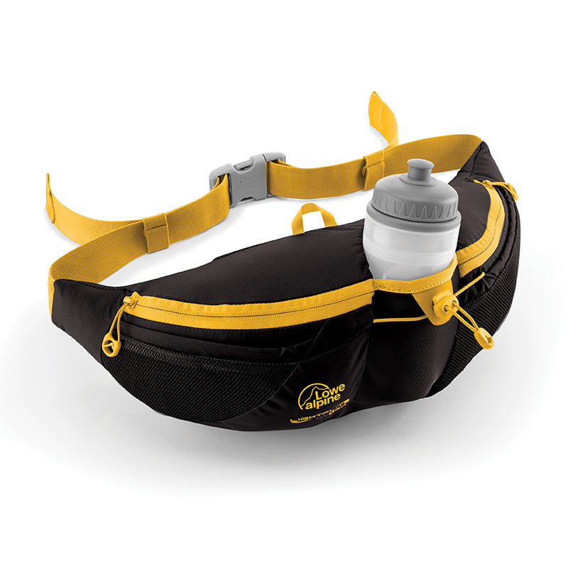 Lowe Alpine-Lightflite Hydro Belt Pack 4L-Waist Pack-Anthracite-Gearaholic.com.sg