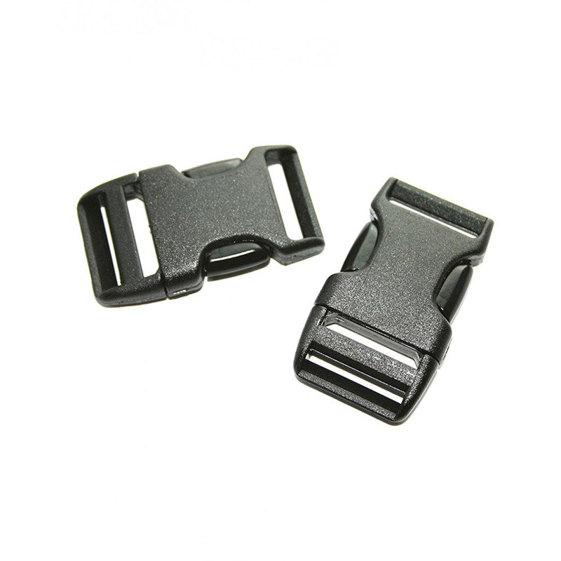 20mm Side Squeeze Buckle (x2)