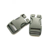 Lowe Alpine-25mm QA Side Squeeze Buckle (x1)-Black-Gearaholic.com.sg