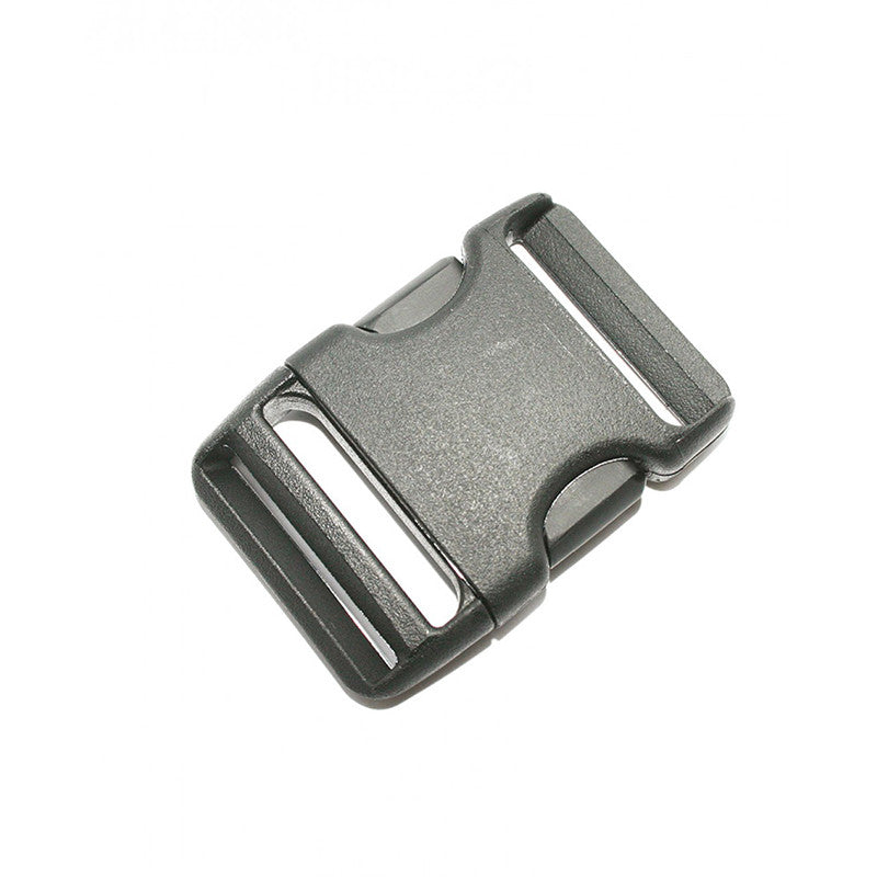 Lowe Alpine-38mm Side Squeeze Buckle (x1)-Other Accessories-Black-Gearaholic.com.sg