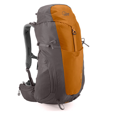 Lowe Alpine-AirZone Hike 30 Litres Backpack-Backpacking Pack-Tangine/Mushroom-Gearaholic.com.sg