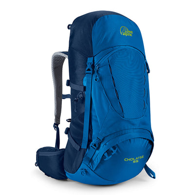 Lowe Alpine-Cholatse 55-Backpacking Pack-Giro/Blue Print-Gearaholic.com.sg