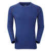 Montane-Men's Primino Crew Neck 220-Men's Next To Skin-Antarctic Blue-S-Gearaholic.com.sg