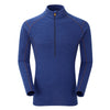 Montane-Men's Primino 220 Zip Neck-Men's Next To Skin-Antarctic Blue-S-Gearaholic.com.sg