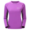 Montane-Women's Sonic Long Sleeves T-Shirt-Women's Next To Skin-Dahlia-XS-Gearaholic.com.sg