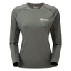 Montane-Women's Sonic Long Sleeves T-Shirt-Women's Next To Skin-Shadow-XS-Gearaholic.com.sg