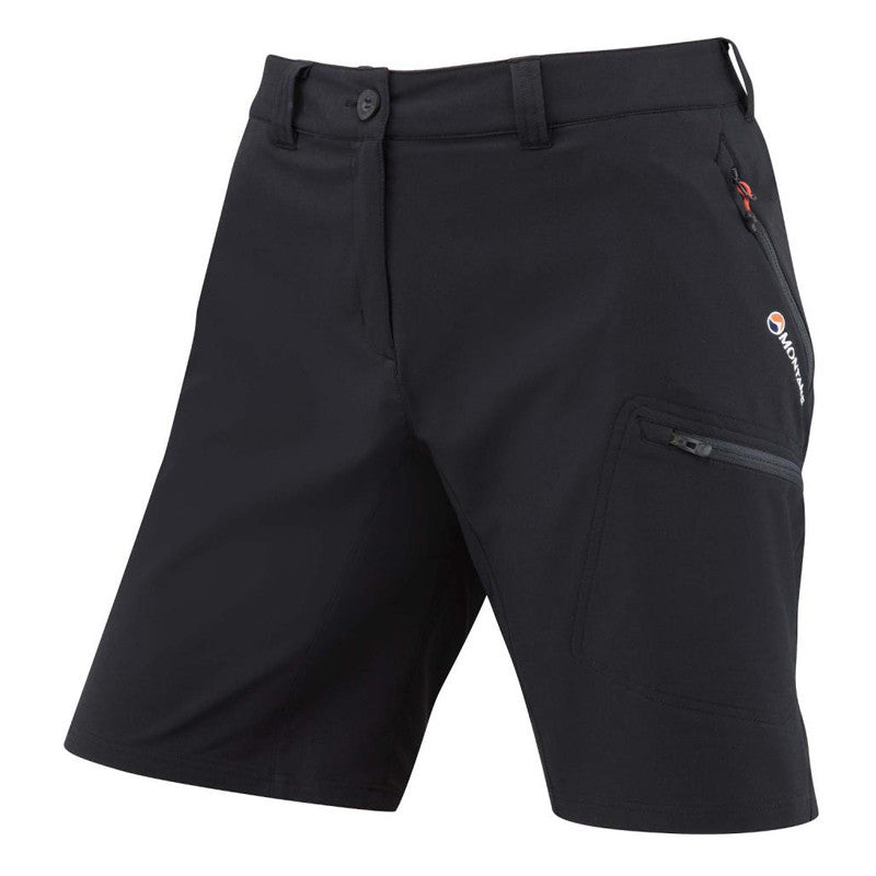 Montane-Women's Dyno Stretch Shorts-Women's Legwear-Black-S-Gearaholic.com.sg
