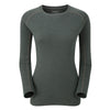 Montane-Women's Primino Crew Neck 220 Long Sleeve T-Shirt-Women's Next To Skin-Shadow-XS-Gearaholic.com.sg