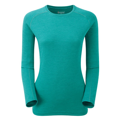 Shop for Montane at Women's Primino Crew Neck 220 Long Sleeve T-Shirt at Gearaholic.com.sg