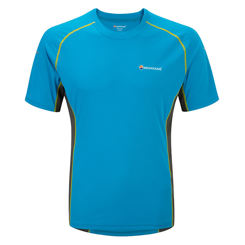 Montane-Men's Sonic Short Sleeves T-Shirt-Men's Next To Skin-Blue Spark-XS-Gearaholic.com.sg