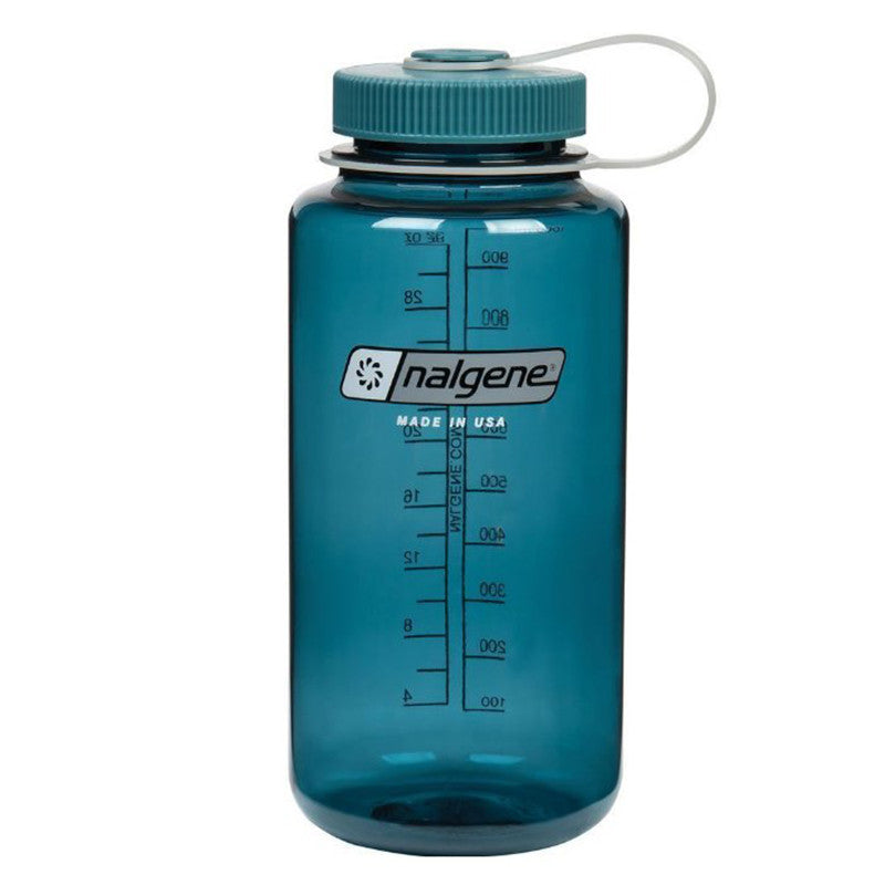 Nalgene-32oz 1L Wide Mouth BPA Free Water Bottle-Water Bottle-Cadet-Gearaholic.com.sg