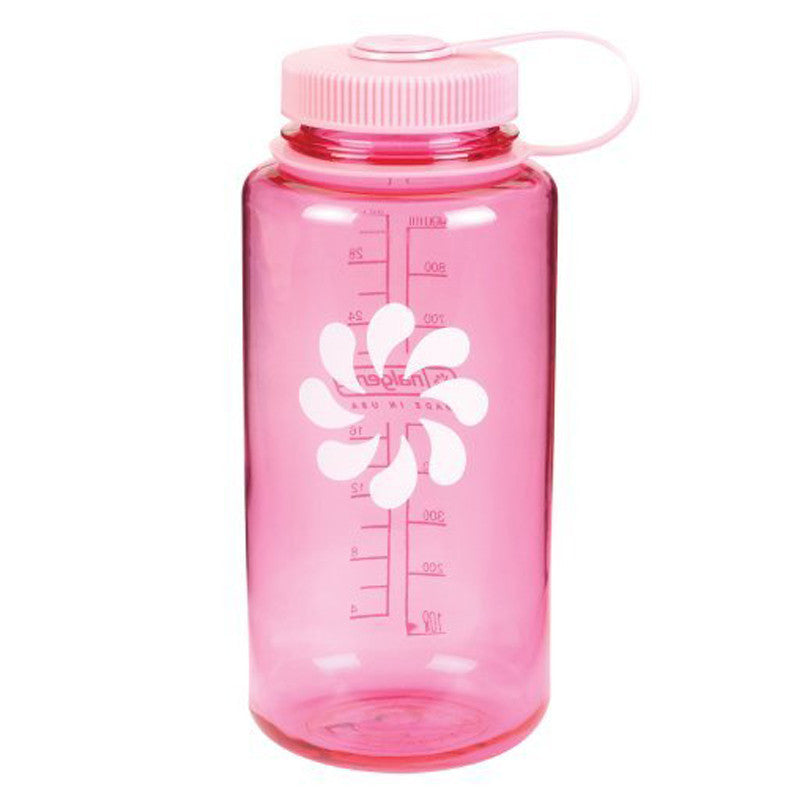 Nalgene-32oz 1L Wide Mouth BPA Free Water Bottle-Water Bottle-Pink-Gearaholic.com.sg