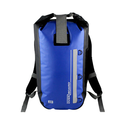 OverBoard-Classic Waterproof Backpack - 20 Litres-Waterproof Backpack-Blue-Gearaholic.com.sg