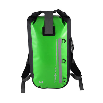 OverBoard-Classic Waterproof Backpack - 20 Litres-Waterproof Backpack-Green-Gearaholic.com.sg