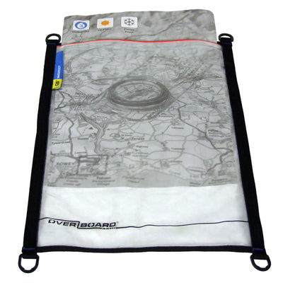 OverBoard-Waterproof Map Pouch - A3-Waterproof Map Case-Black-Gearaholic.com.sg