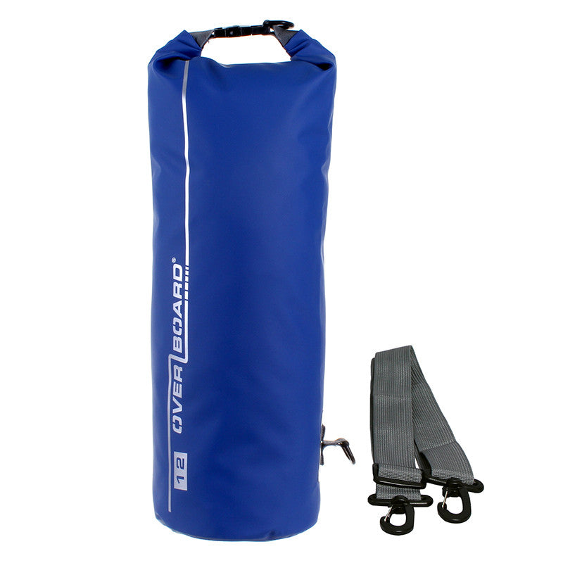 OverBoard-Waterproof Dry Tube Bag - 12 Litre-Waterproof Dry Tube-Blue-Gearaholic.com.sg