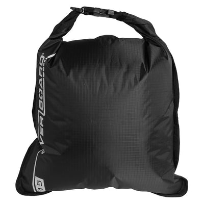 OverBoard-Waterproof Dry Flat Bag - 15 Litres-Waterproof Dry Tube-Black-Gearaholic.com.sg