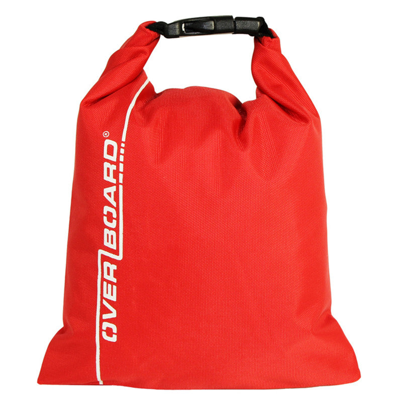 OverBoard-Waterproof Dry Pouch - 1 Litre-Waterproof Dry Tube-Red-Gearaholic.com.sg