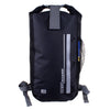 OverBoard-Classic Waterproof Backpack - 20 Litres-Waterproof Backpack-Black-Gearaholic.com.sg