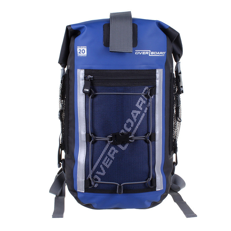 OverBoard-Pro-Sports Waterproof Backpack - 20 Litres-Waterproof Backpack-Blue-Gearaholic.com.sg
