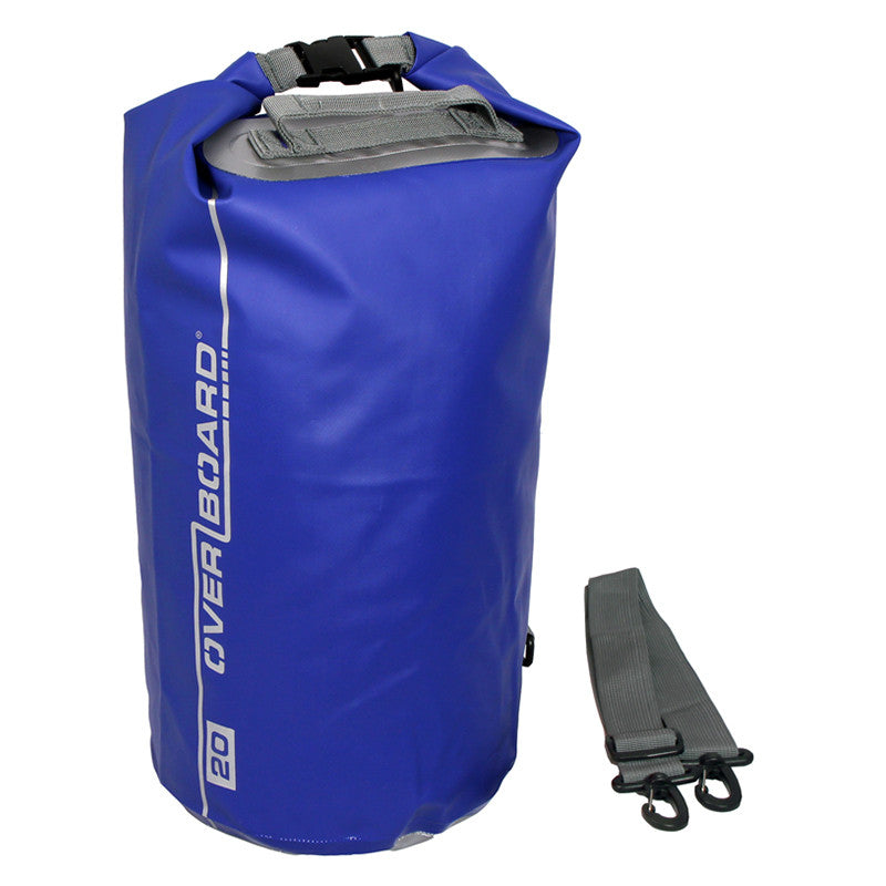 OverBoard-Waterproof Dry Tube Bag - 20 Litre-Waterproof Dry Tube-Blue-Gearaholic.com.sg